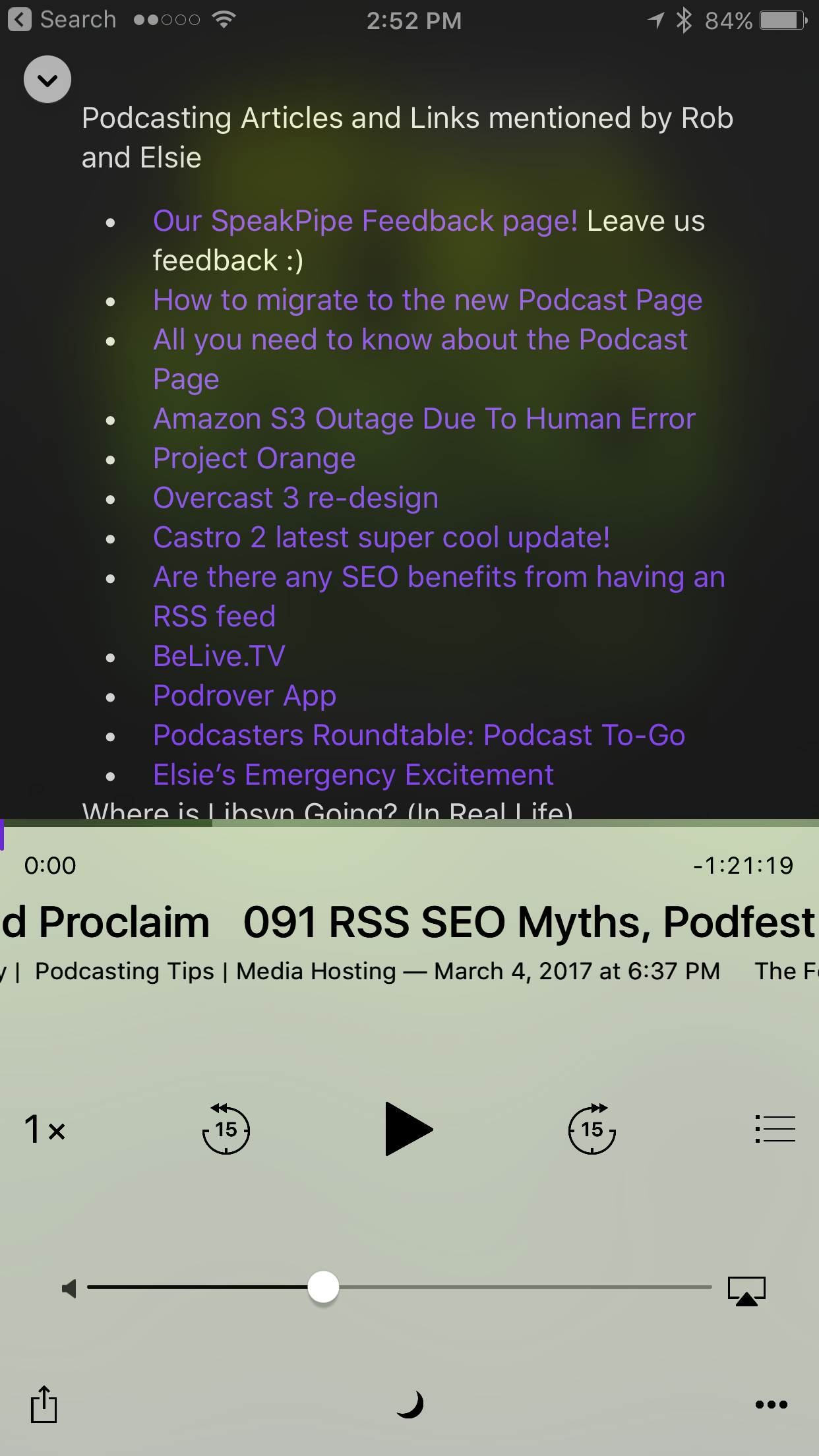 Publishing a Podcast Episode – Libsyn Support