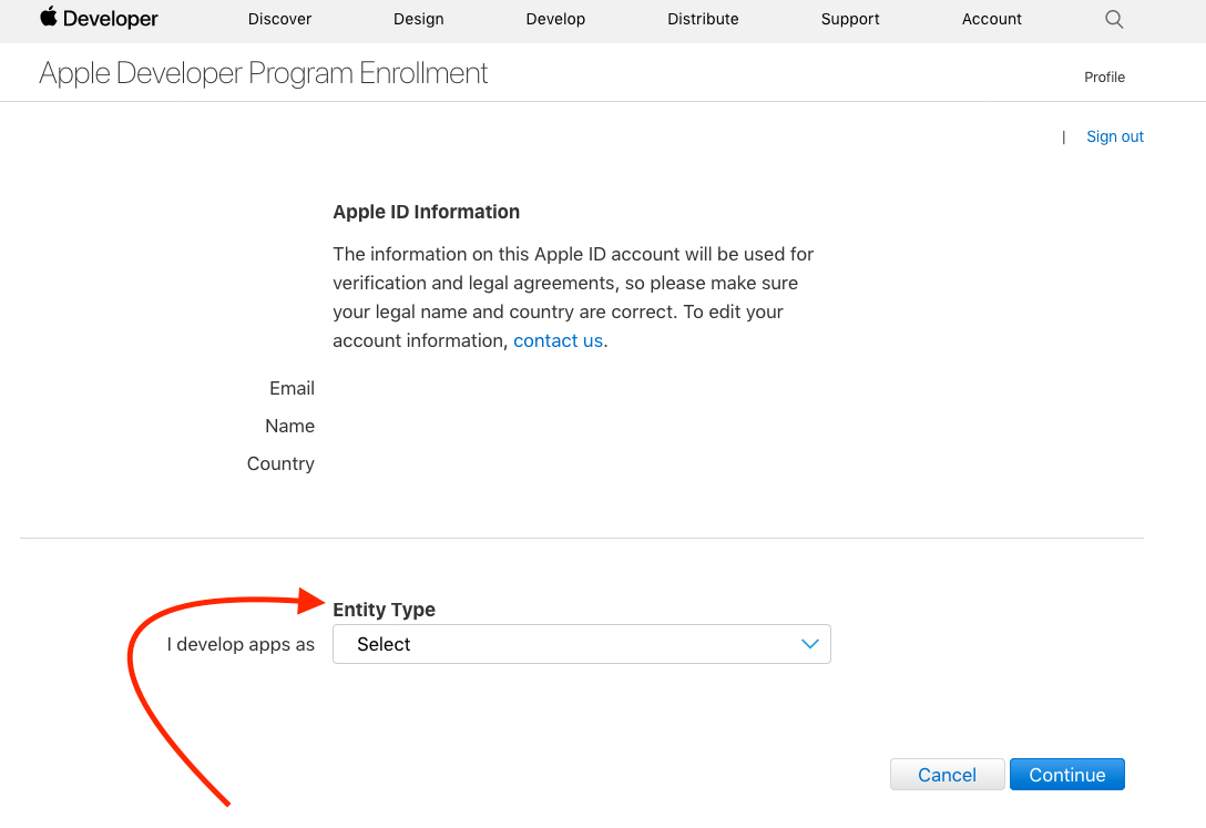 Creating a Developer Account For Your iOS App – Libsyn Support