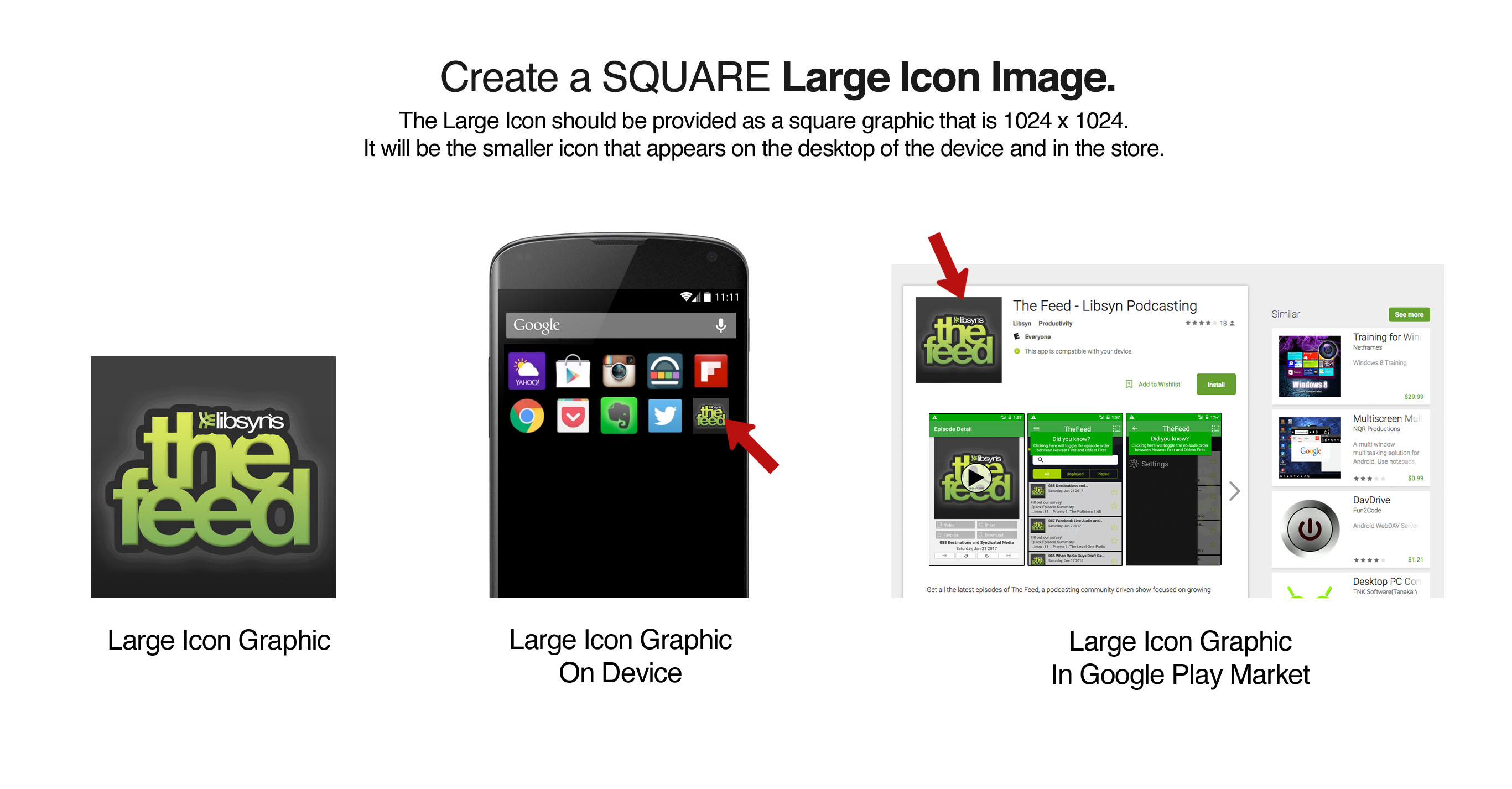 Android Artwork Guide – Libsyn Support